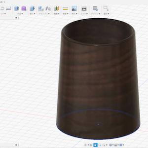 植木鉢を作るために無料の3D−CADを使ってみた。
