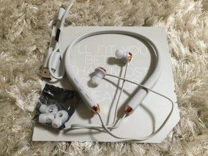 ソル・リパブリックのワイヤレスイヤホン付属部品写真
