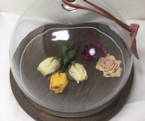 加工した花の写真