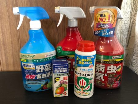 家庭用農薬の写真