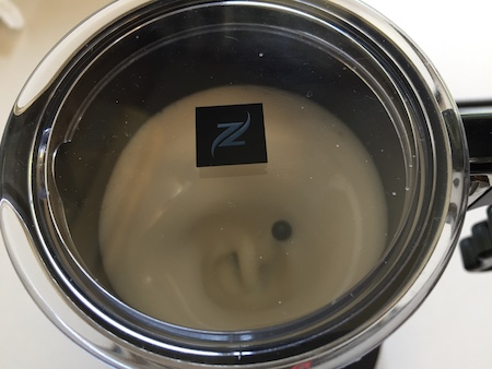 エアロチーノのボタン種類写真