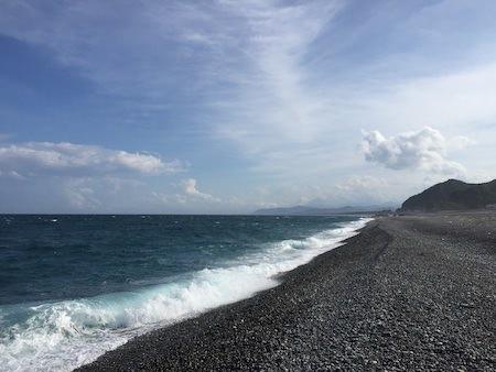 熊野市の浜写真