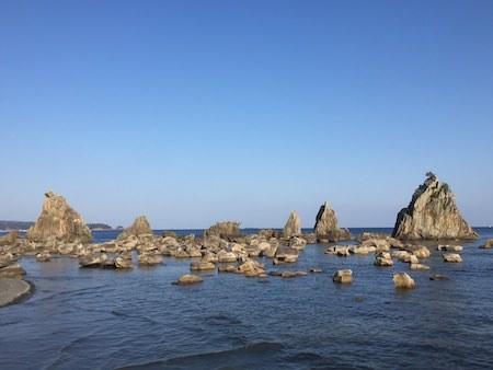 橋杭岩の写真