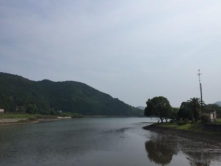 マンボウの裏の池写真