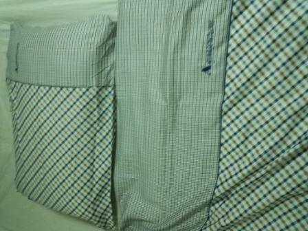 羽毛布団とマクラの写真