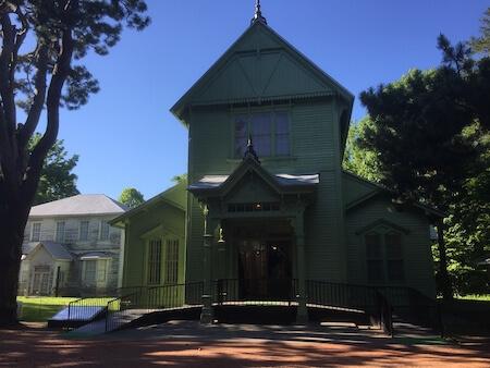 北大植物園の観光施設写真