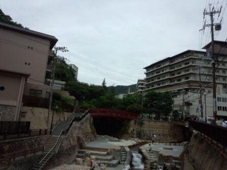有馬温泉の風景4