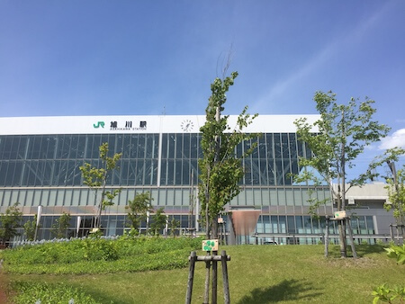 旭川駅の写真