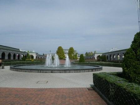 フルーツフラワーパークの噴水写真