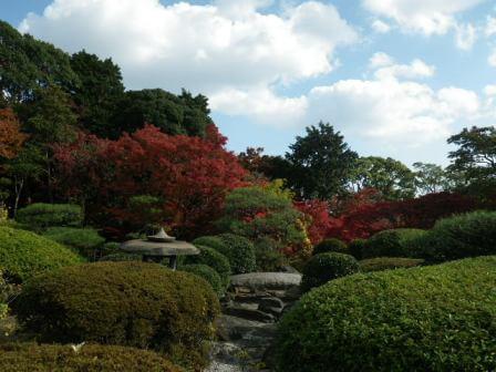 須磨離宮公園の和風景色写真2