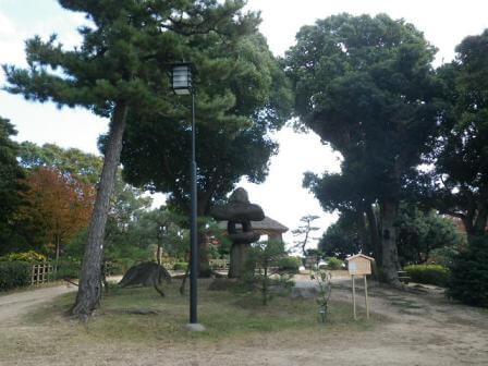 須磨離宮公園の和風景色写真3