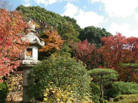 須磨離宮公園の和風景色写真