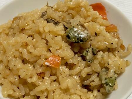 御食つ国海幸 炊込みご飯 牡蠣の写真2
